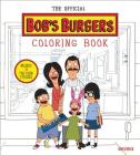The Official Bob's Burgers Coloring Book Cover Image
