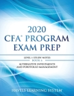 2020 CFA Program Exam Prep Level 1: 2020 CFA Level 1, Book 6: Alternative Investments and Portfolio Management Cover Image