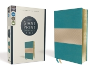 Niv, Giant Print Compact Bible, Leathersoft, Teal, Red Letter Edition, Comfort Print Cover Image