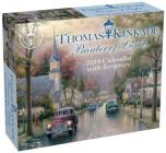 Thomas Kinkade Painter of Light with Scripture 2019 Day-to-Day Calendar Cover Image
