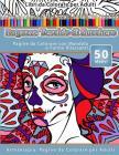 Libri da Colorare per Adulti Ragazze Teschio di Zucchero: Pagine da Colorare con Mandala e Forme Rilassanti Arteterapia: Pagine da Colorare per Adulti Cover Image