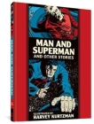 Man And Superman And Other Stories (The EC Comics Library) Cover Image