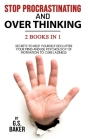 STOP PROCRASTINATING And OVERTHINKING 2 in 1 Bundle Cover Image