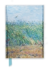Van Gogh: Wheat Field with a Lark (Foiled Journal) (Flame Tree Notebooks) Cover Image