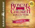 The Boxcar Children Collection Volume 33 (Library Edition): The Radio Mystery, The Mystery of the Runaway Ghost, The Finders Keepers Mystery Cover Image