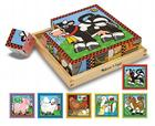 Farm Cube Wooden Puzzle Cover Image
