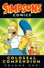 Simpsons Comics Colossal Compendium Volume 1 Cover Image