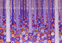 Purple Forest Note Cards Cover Image