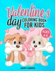 Valentine's Day Coloring Book Cover Image