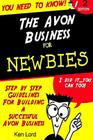 The Avon Business for Newbies Cover Image