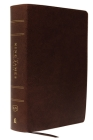 The King James Study Bible, Bonded Leather, Brown, Full-Color Edition Cover Image