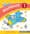 Jolly Phonics Workbook 1: In Print Letters (American English Edition) Cover Image