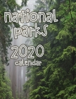 National Parks 2020 Calendar Cover Image