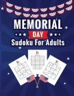 Memorial Day Sudoku for Adults: A Memorial Day Themed Sudoku Book Cover Image