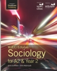 Wjec/Eduqas Sociology for A2 & Year 2student Book Cover Image