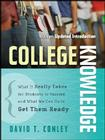 College Knowledge P (Jossey-Bass Education) Cover Image
