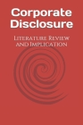 Corporate Disclosure: Literature Review and Implication Cover Image