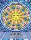 Zodiac and Astrological Designs Color By Numbers Coloring Book for Adults: An Adult Color By Number Book of Zodiac Designs and Astrology for Stress Re Cover Image
