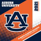 Auburn Tigers 2021 12x12 Team Wall Calendar Cover Image