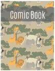 Comic Book For Kids: Develop Your Kids Creativity Create Your Own Story Comics Book Strips And Graphic Novel With This Beautiful Sketch Not (Volume #5) Cover Image