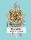Tiere Mandala Malbuch: Färbung mit 50 Erwachsenen Entspannung Mandalas Cover Image