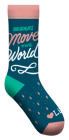 Readers Move the World Socks (Gs) Cover Image