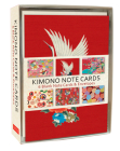 Kimono Note Cards: 6 Blank Note Cards & Envelopes (4 X 6 Inch Cards in a Box) Cover Image