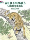 Wild Animals Coloring Book (Dover Nature Coloring Book) Cover Image