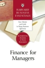 Finance for Managers (Harvard Business Essentials) Cover Image