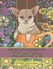 Adult Color by Numbers Coloring Book of Chihuahuas: Chihuahuas Color by Number Coloring Book for Adults for Stress Relief and Relaxation Cover Image