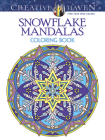 Creative Haven Snowflake Mandalas Coloring Book (Creative Haven Coloring Books) Cover Image