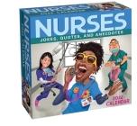 Nurses 2022 Day-to-Day Calendar: Jokes, Quotes, and Anecdotes Cover Image