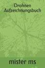 Drohnen Aufzeichnungsbuch Cover Image