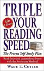 Triple Your Reading Speed: 4th Edition Cover Image