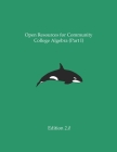 Open Resources for Community College Algebra (Part I) Cover Image