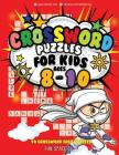 Crossword Puzzles for Kids Ages 8-10: 90 Crossword Easy Puzzle Books Cover Image