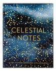 Celestial Notes: 16 Foil-Stamped Notecards with Envelopes (Celestial Star Stationery, Space and Galaxy Watercolor Blank Notecards) Cover Image