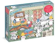 Sandra Boynton: Hidden Cows 1,000-Piece Puzzle (Workman Puzzles) Cover Image