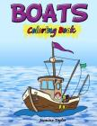 Boats Coloring Book Cover Image