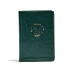 CSB Military Bible, Green LeatherTouch Cover Image