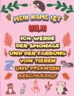 Mein Name ist Helin Ich werde der Spionage und der Färbung von Tieren und Pflanzen beschuldigt: Ein perfektes Geschenk für Ihr Kind - Zur Fokussierung Cover Image
