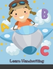 Learn Handwriting: Dot to Dot Practice Print book (Trace Letters Of The Alphabet and Sight Words) Cover Image