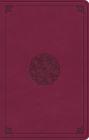 ESV Premium Gift Bible (Trutone, Raspberry, Emblem Design) Cover Image