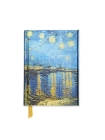Van Gogh: Starry Night Over the Rhone (Foiled Pocket Journal) Cover Image