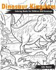 Dinosaur Kingdom Coloring Books for Children and Grownups: Activity book learning coloring books for girls, teens, boys Cover Image