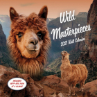 Wild Masterpieces 2021 Wall Calendar: (Animal Portraits Nature Monthly Calendar, 12-Month Calendar of Pets in Natural Landscapes) Cover Image