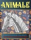 Libri da colorare per adulti - Rilassamento e sollievo dallo stress - Animale Cover Image