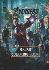 Marvel Avengers Great Coloring Book: Coloring Book for Kids, Adults and Any Fans (high resolution pictures) Cover Image