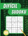 Sudoku Difícil: 200 Sudokus difíciles con soluciones para adultos Cover Image