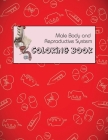 Male Body and Reproductive System Coloring Book: anatomy and physiology coloring book for adults, College and Medical students Cover Image